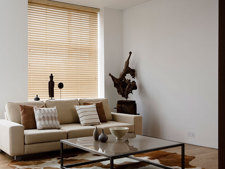 Maple Window Blinds