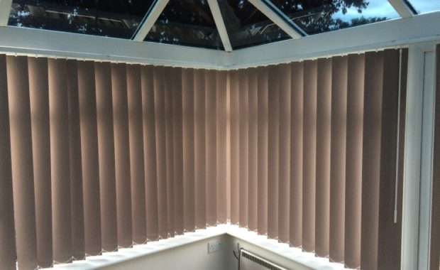 Vertical Blinds | CoolGlass Glazing Enhancements