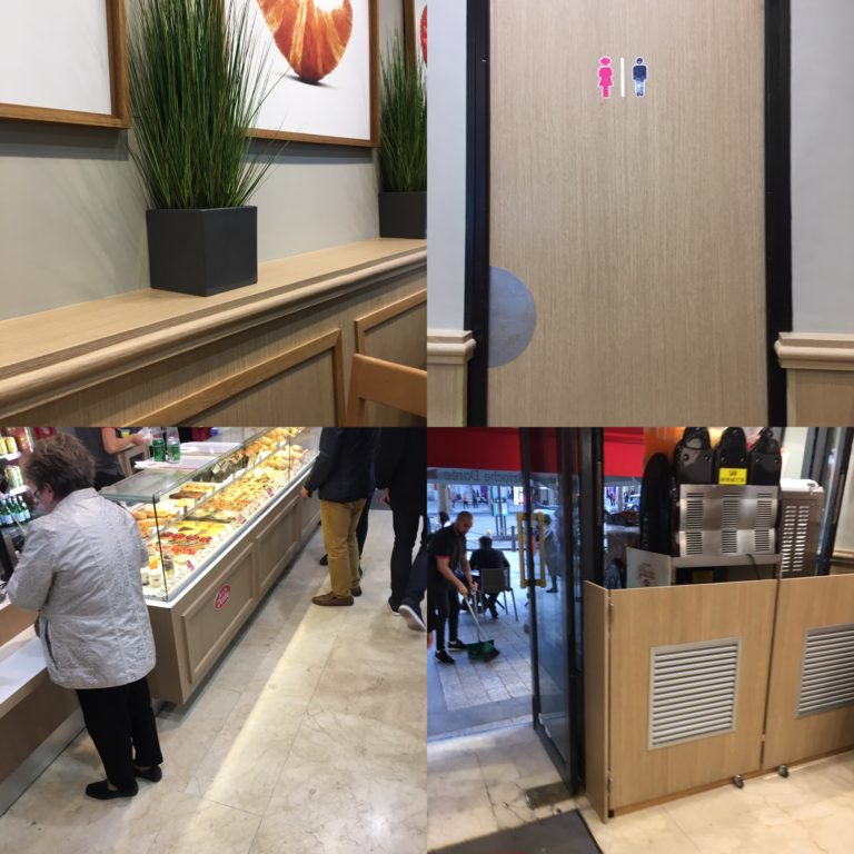 A Patisserie in Paris with Coverstyl